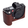 Arte di Mano Half Case for Leica SL (Typ 601) with Battery Access Door - Rally Volpe