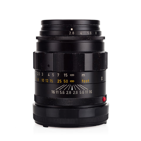"Used Leica Tele-Elmarit-M 90mm f/2.8 ""Fat"" - Black - Recent YYE CLA"