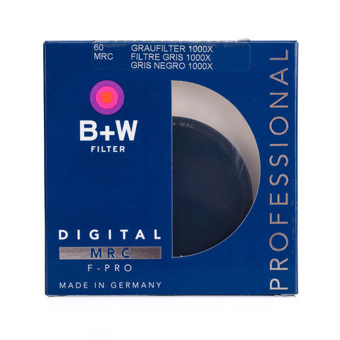 B+W 60mm F-Pro 110M 3.0 ND Filter MRC (10-Stop)