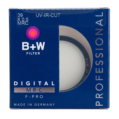 B+W 39mm F-Pro 486M UV/IR Cut Filter MRC