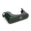 Arte di Mano Leica Q (Typ 116) Half Case with Battery Access Door - Buttero Emerald