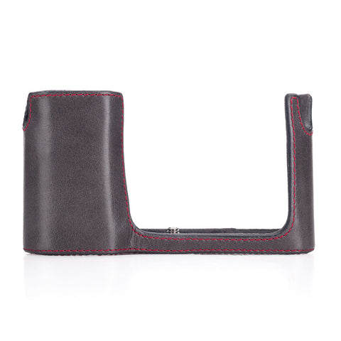 Leica Leather T Protector, Stone Grey