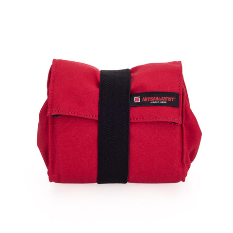Artisan & Artist* ACAM 75 Canvas Wrap Body Pouch, Red