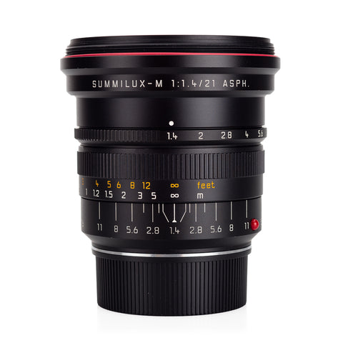 Used Leica Summilux-M 21mm f/1.4 ASPH - UV Filter
