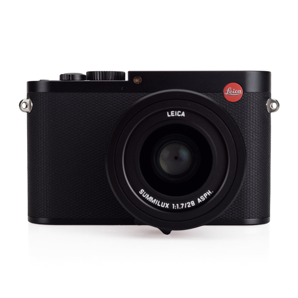 Used Leica Q (Typ 116), Black with Leather Case