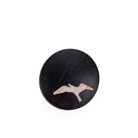 Artisan Obscura Bird (Ebony), Large Convex Soft Release