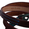 Arte di Mano Comodo Neck Strap - Rally Volpe with Minerva Blue Accents