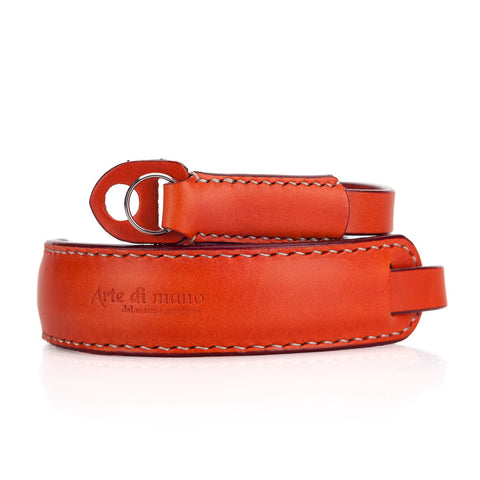Arte di Mano Classic Neck Strap - Buttero Orange