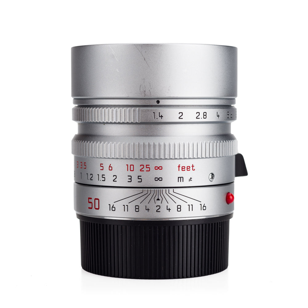 Used Leica Summilux-M 50mm f/1.4 ASPH, Silver Chrome - 6-Bit