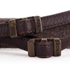 Cecilia Neck Strap, Walnut Alpaca/Brown Leather