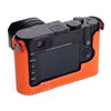 Arte di Mano Leica Q (Typ 116) Half Case - Buttero Orange