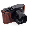 Arte di Mano Leica Q (Typ 116) Half Case with Battery Access Door - Rally Volpe