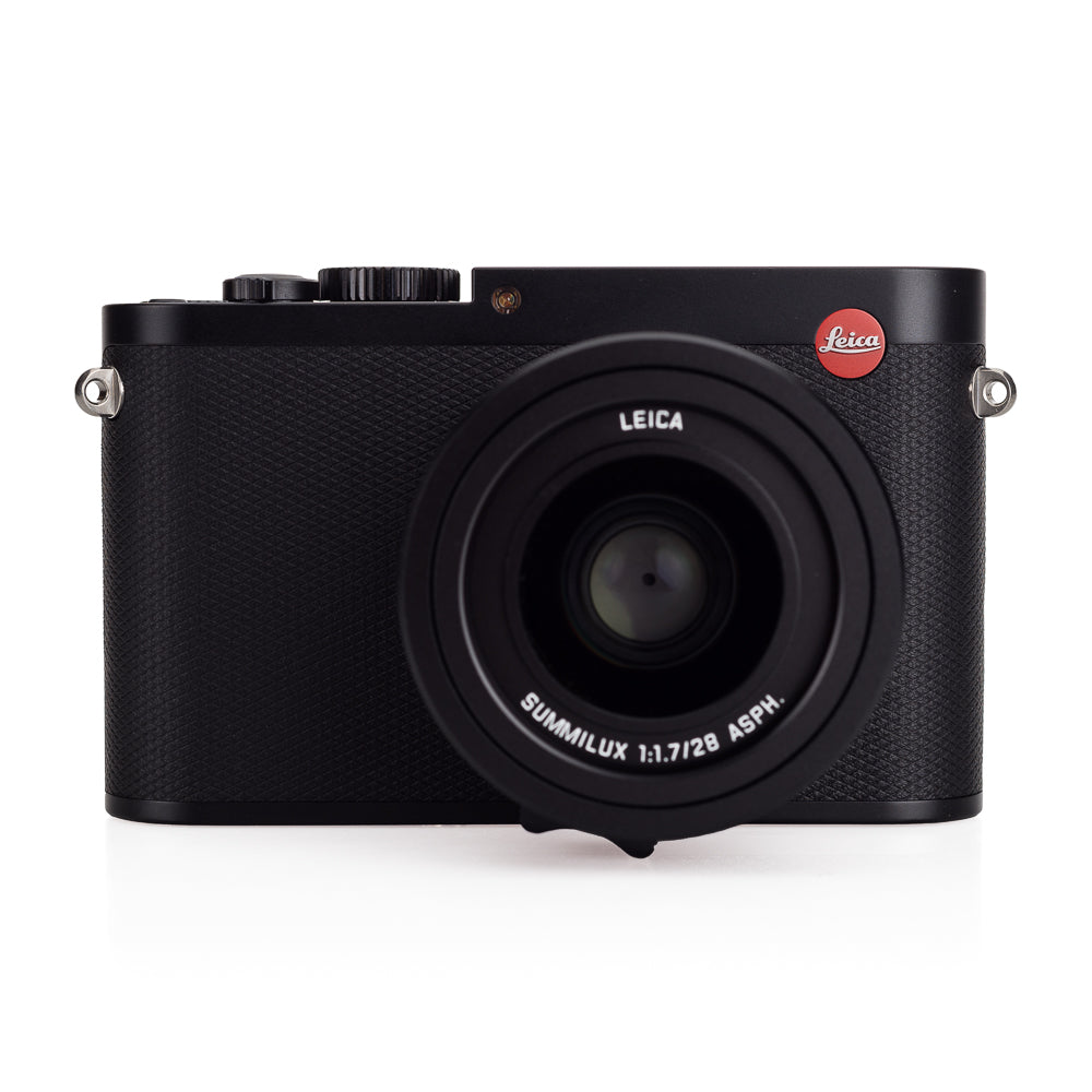 Used Leica Q (Typ 116), Black with Leather Cases