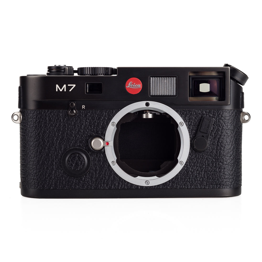 Used Leica M7 0.72, black chrome - MP Finder & Recent DAG CLA