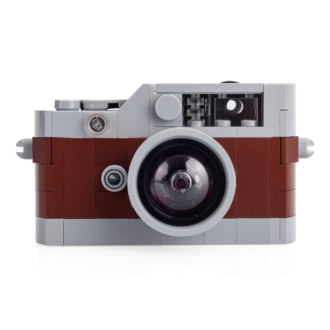 Toy Rangefinder Model Camera - Brown/Gray