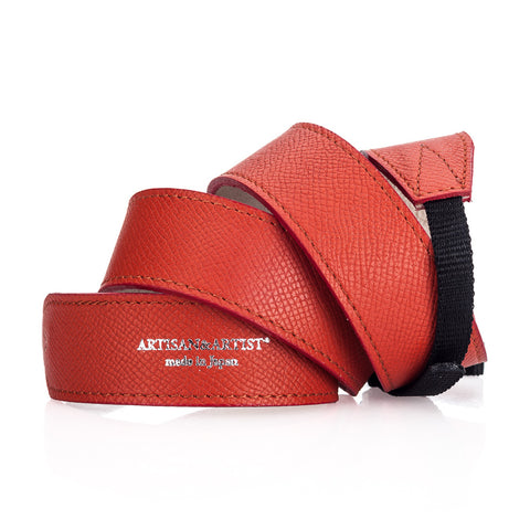 Artisan & Artist* ACAM 600N Leather Strap - Orange