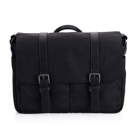 ONA Nylon Brixton Camera Messenger Bag - Black