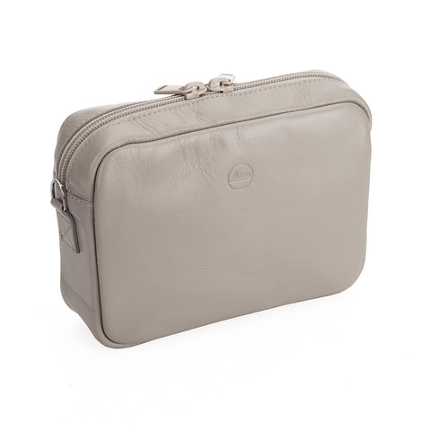 Leica C-Lux Andrea Leather Handbag, Cemento