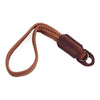 Arte di Mano Waxed Cotton Hand Strap - Brown Cotton with Rally Volpe Leather Accents