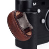 Arte di Mano Leather Finger Loop for Leica M (Typ 240) - Rally Volpe, Silver Metal