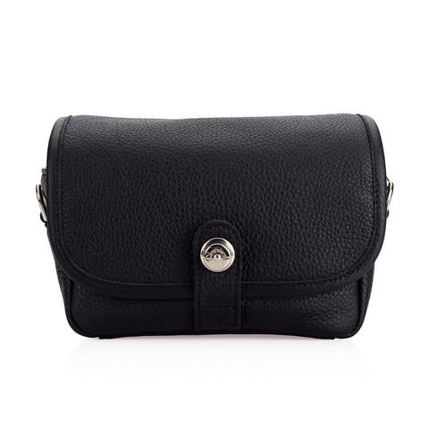 Oberwerth Charlie Leather Camera Bag, Black