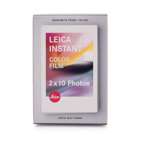 Leica Sofort Color Film Pack, Double (20 Exposures)