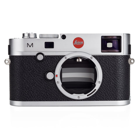 Used Leica M (Typ 240), silver chrome '100 Year Edition' with Extra Battery