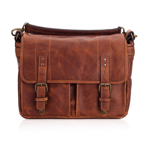 ONA Prince Street Leather Camera Messenger Bag - Antique Cognac