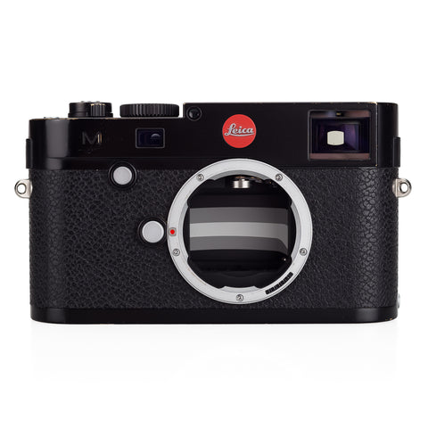 Used Leica M (Typ 240), black paint - 2 Extra Batteries