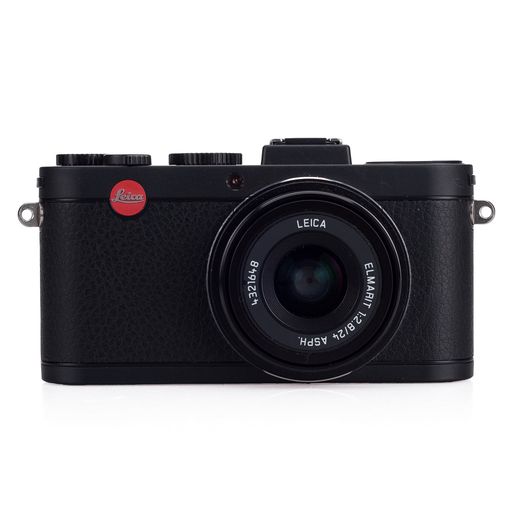 Used Leica X2, Black - 2 Extra Batteries, Case, Grip