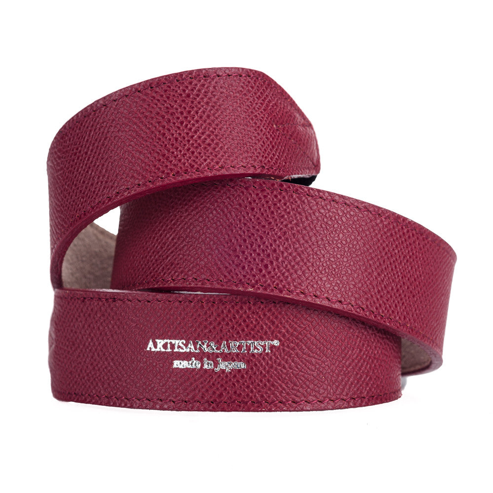 Artisan & Artist* ACAM 600 Leather Strap - Red