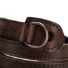 Artisan & Artist* ACAM 280 Leather Padded Strap-Grey