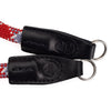 Leica Rope Strap by Cooph, Red Check, 100cm, Key-Ring Style