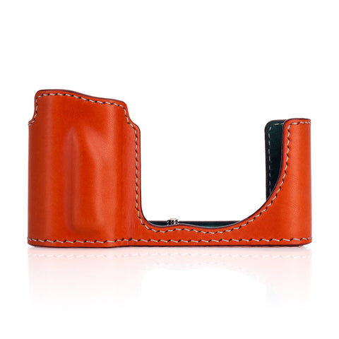 Arte di Mano Leica TL2 Half Case - Buttero Orange