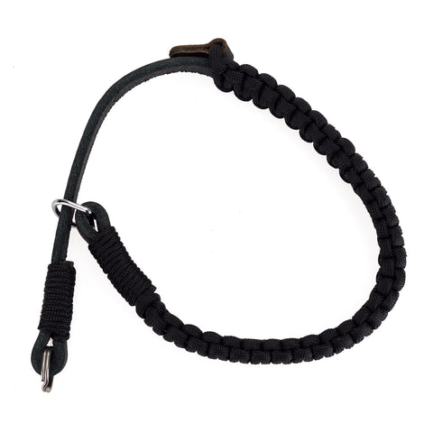 Leica Paracord Handstrap by Cooph, Black/Black, Key-Ring Style