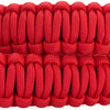 Leica Paracord Strap by Cooph, Black/Red, 126cm, Key-Ring Style