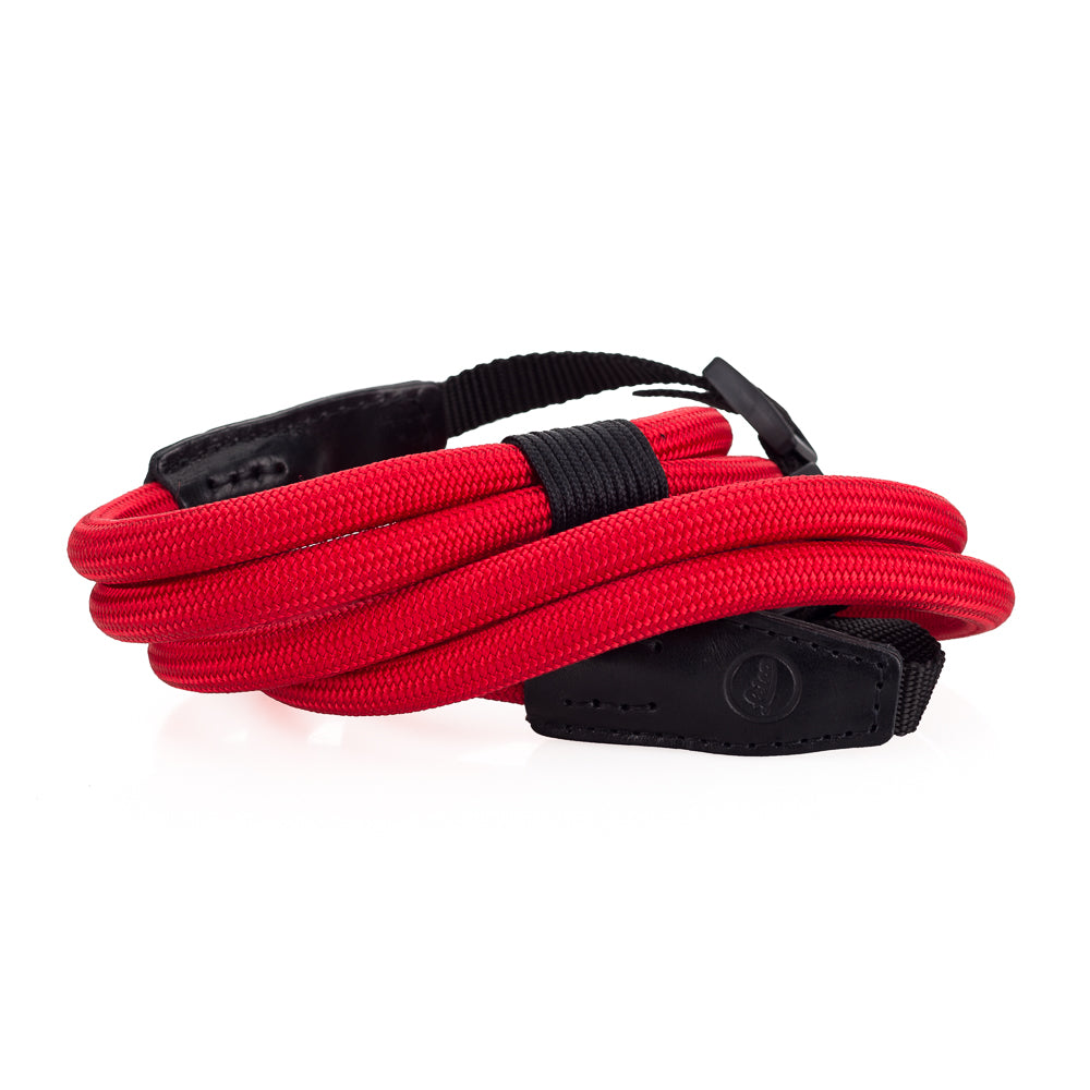 Leica Double Rope Strap by Cooph, Red,100cm, Nylon-Loop Style