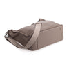 Oberwerth Kate Camera/Business Bag, Grey Leather with Silver Buckles, Clutch and Keywallet