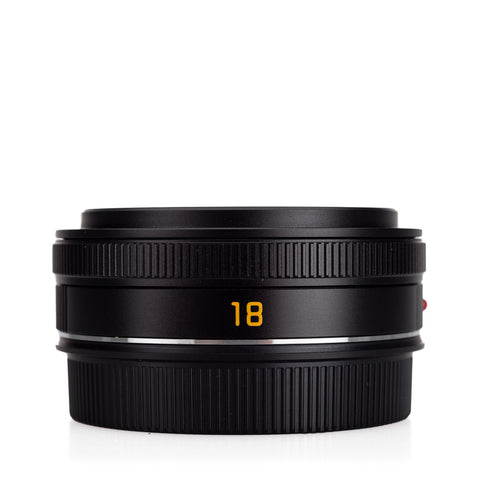 Used Leica Elmarit-TL 18mm f/2.8 ASPH, black
