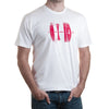 Leica Lens T-Shirt - White/Red - Medium