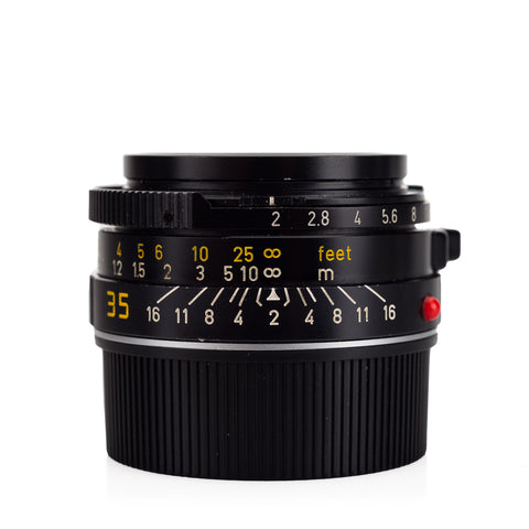 "Used Leica Summicron-M 35mm f/2 V4 ""Bokeh King"" (Canada, 1985)"