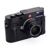 Leica M10 Leather Camera Protector, Black