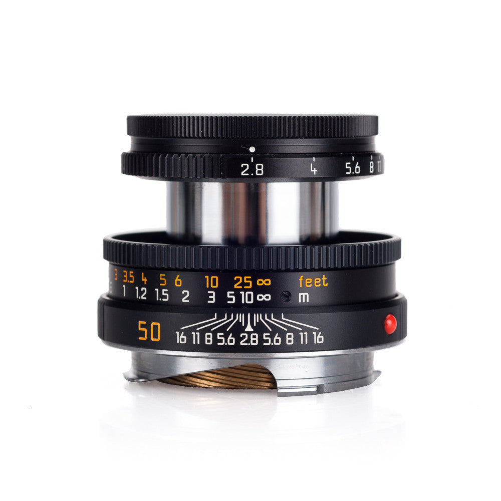 Used Leica Elmar-M 50mm f/2 8 Collapsible - Black - Leica Store Miami
