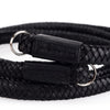 Arte di Mano Extra Long Heritage Neck Strap - Minerva Black with Black Stitching