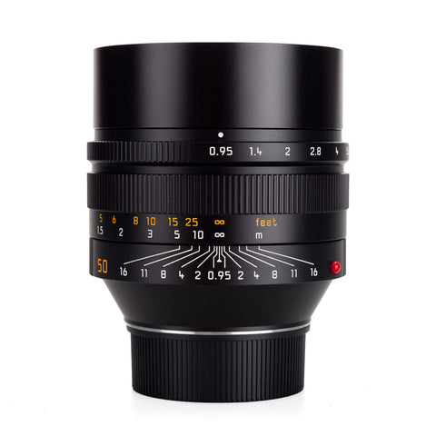 Used Leica Noctilux-M 50mm f/0.95 ASPH, black