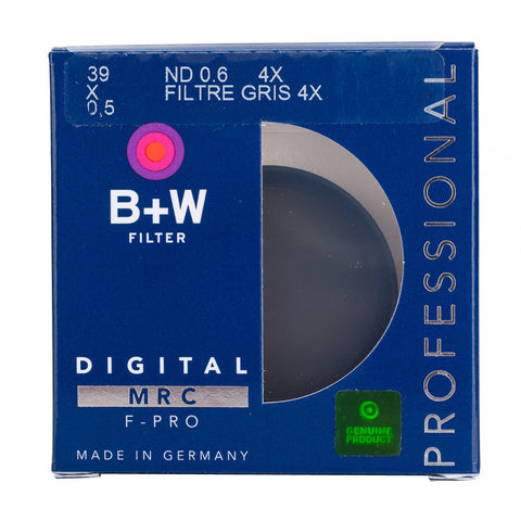 B+W 39mm F-Pro 102M 0.6 ND Filter MRC (2-Stop)