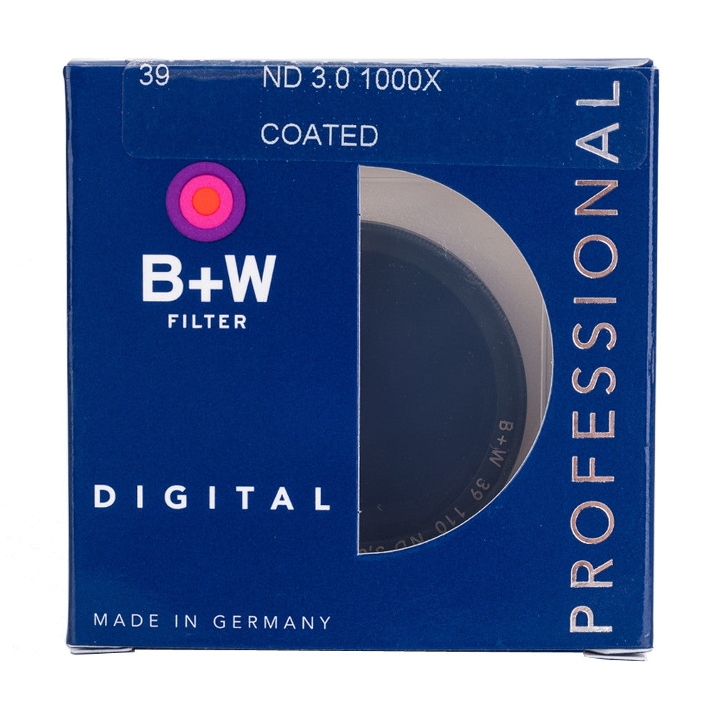B+W 39mm F-Pro 110 3.0 ND Filter SC (10-Stop)