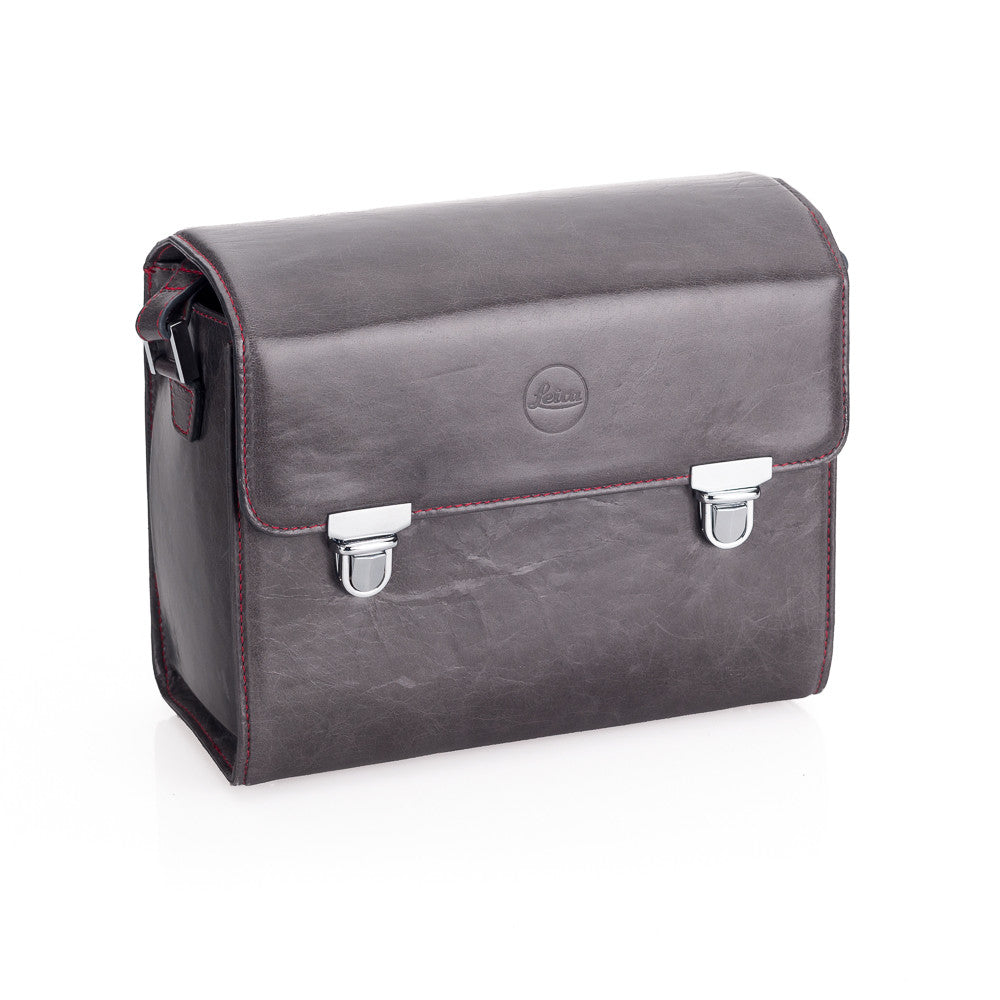 Used Leica System case, Small, Leather Stone Grey