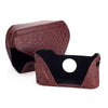 Leica Ever ready case Ostrich look chestnut
