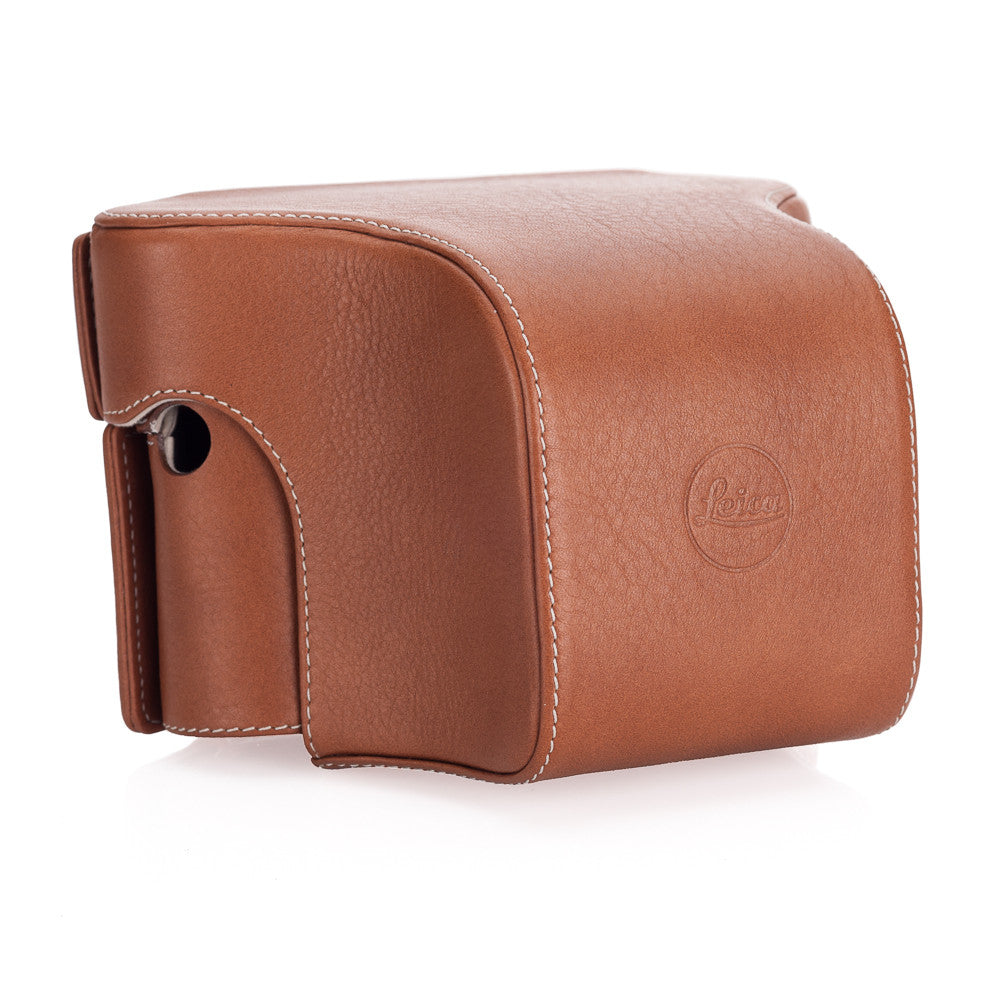 Leica Ever-ready case w/Small Front Cognac for M typ 240